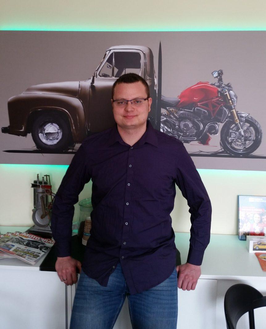 Marek Arndt Geschäftsführer der Fahrschule Bernau